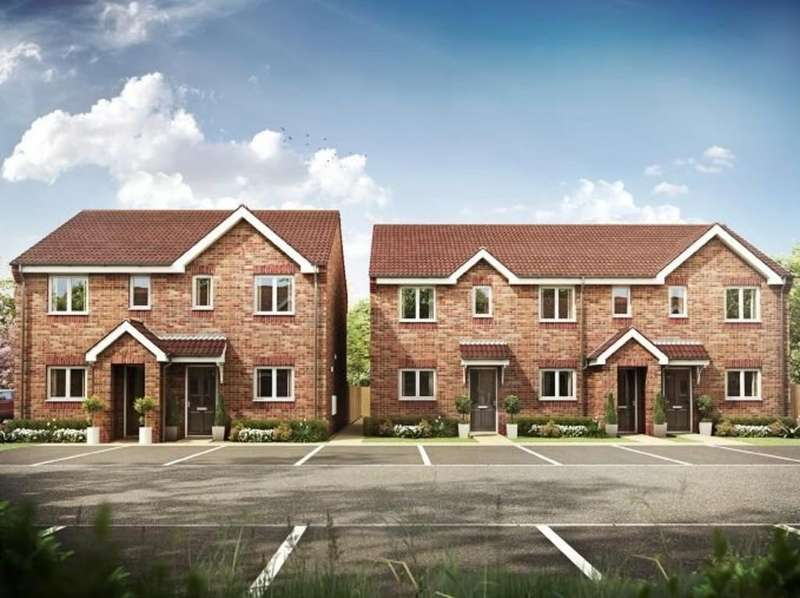 2 Bedrooms Semi Detached House for sale in Hackthorn Road, Welton, Lincoln