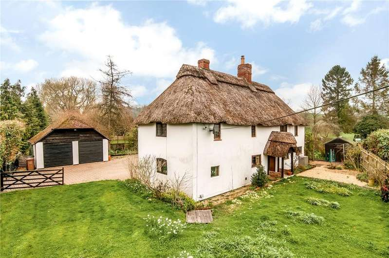 5 Bedrooms Detached House for sale in Stoneymarsh, Michelmersh, Romsey, Hampshire, SO51
