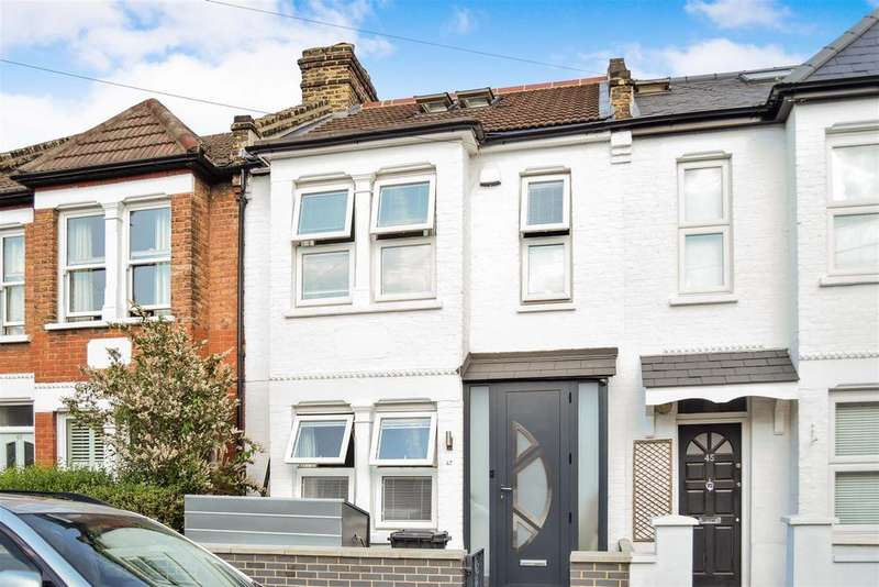 3 Bedrooms Terraced House for sale in Leyton Road, Wimbledon
