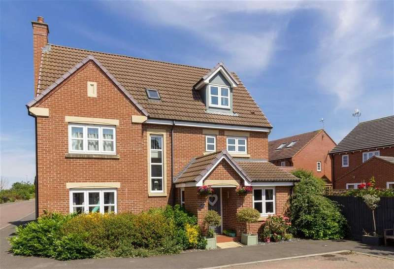 5 Bedrooms Detached House for sale in Brooker Close, Barrow Upon Soar, LE12