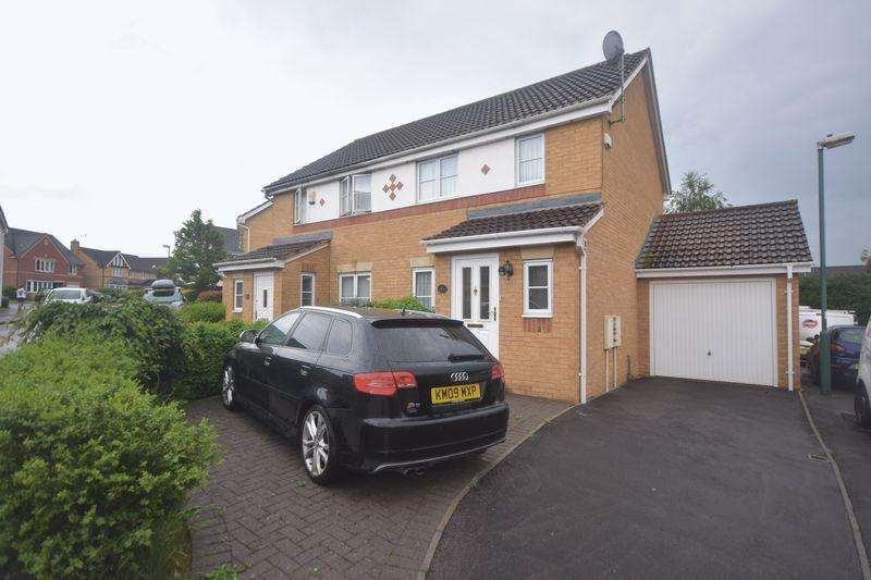 2 Bedrooms Semi Detached House for sale in Julius Close Emersons Green