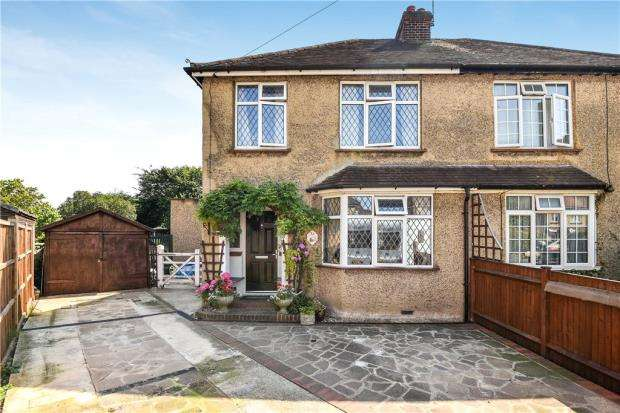 4 Bedrooms Semi Detached House for sale in Alvista Avenue, Taplow, Maidenhead