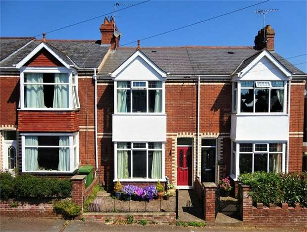 3 Bedrooms Terraced House for sale in Lower Avenue, Heavitree, EXETER, Devon