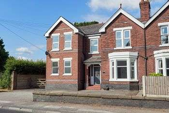 5 Bedrooms Semi Detached House for sale in Park House, London Road, Sandbach CW11 3BD