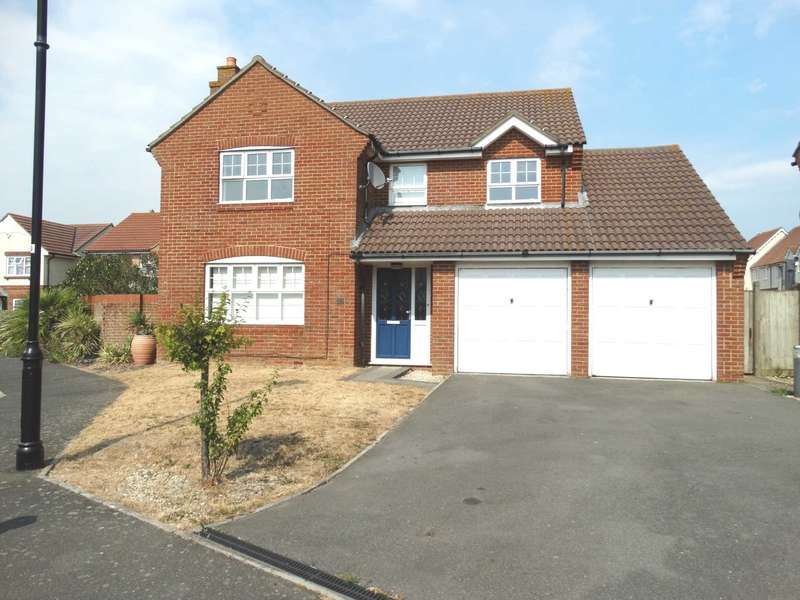 4 Bedrooms Detached House for sale in Barrier Reef Way, Eastbourne