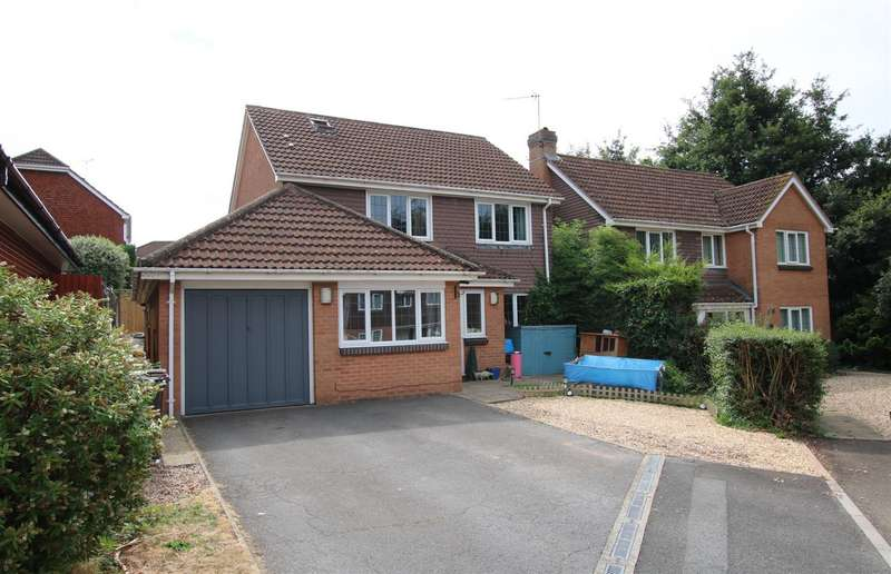 5 Bedrooms Detached House for sale in The Panney, Honeylands, Exeter