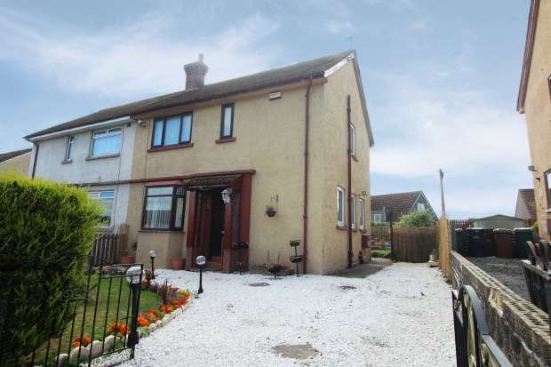 3 Bedrooms Semi Detached House for sale in Barward Road, Galston, Ayrshire, KA4 8BX