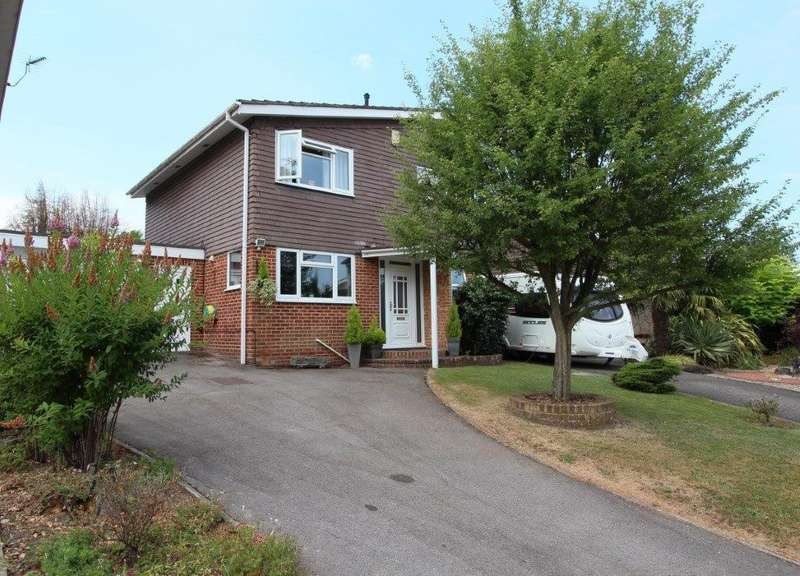 3 Bedrooms Detached House for sale in Vicarage Drive, Hedge End SO30
