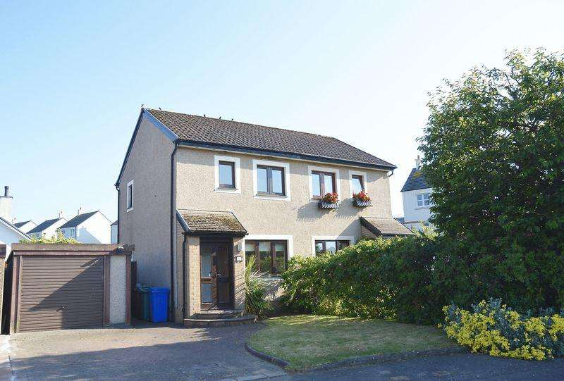 2 Bedrooms Semi-detached Villa House for sale in Abbots Way, Doonfoot, Ayr