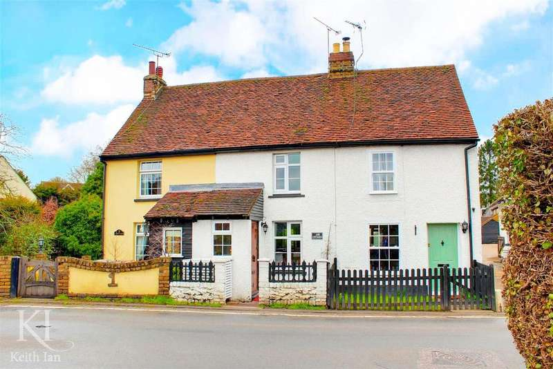 2 Bedrooms Terraced House for sale in Ash Cottages, Wareside - with Garage