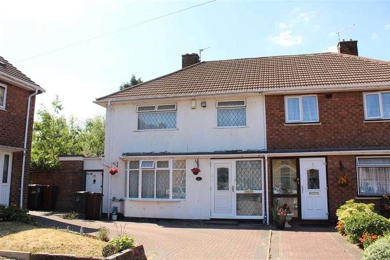 3 Bedrooms Semi Detached House for sale in Mendip Close, Wolverhampton