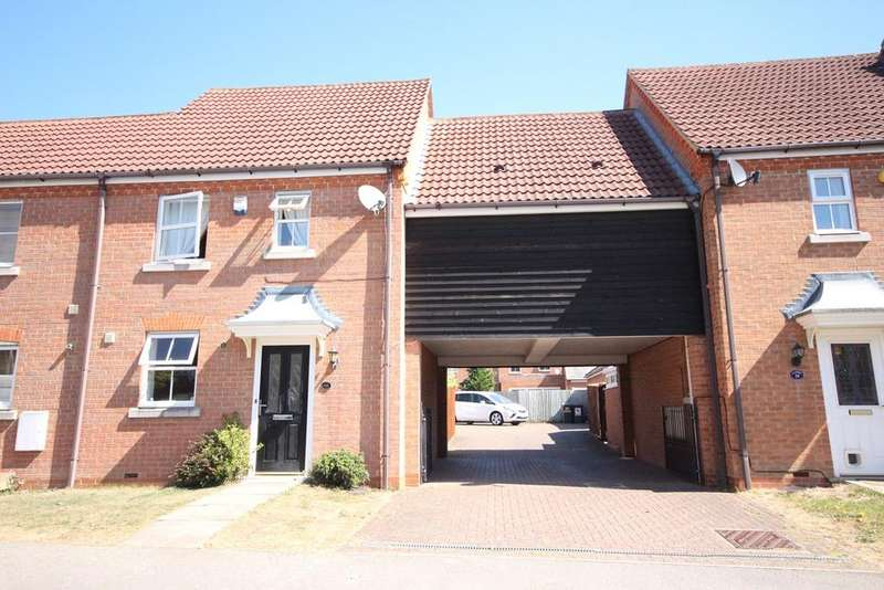 3 Bedrooms Terraced House for sale in Kingfisher Road, Shefford, SG17