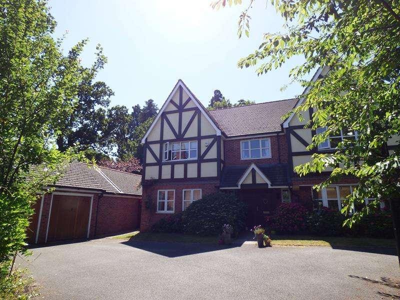 5 Bedrooms Detached House for sale in Brocas, 31 Cockshot Road, Malvern, Worcestershire, WR14 2TT