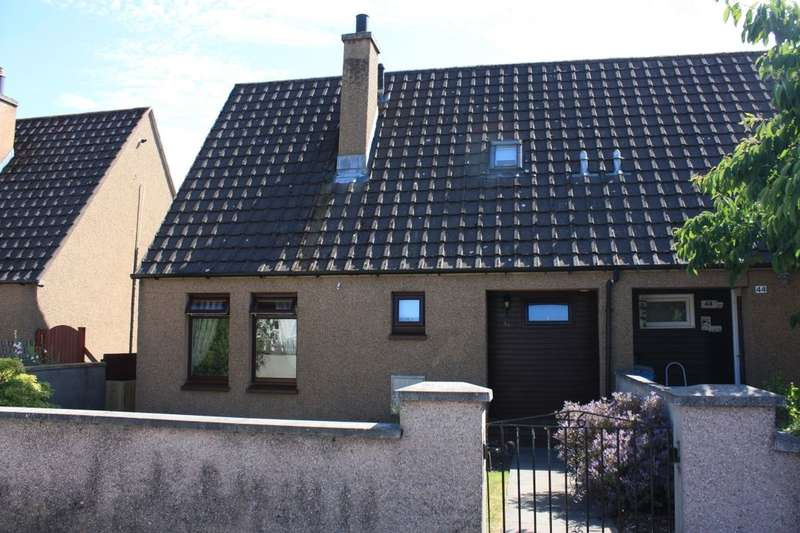 2 Bedrooms Semi Detached House for sale in Birnie Place, Mosstodloch, Fochabers, IV32