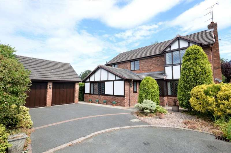 4 Bedrooms Detached House for sale in Petersham Drive, Appleton, Warrington