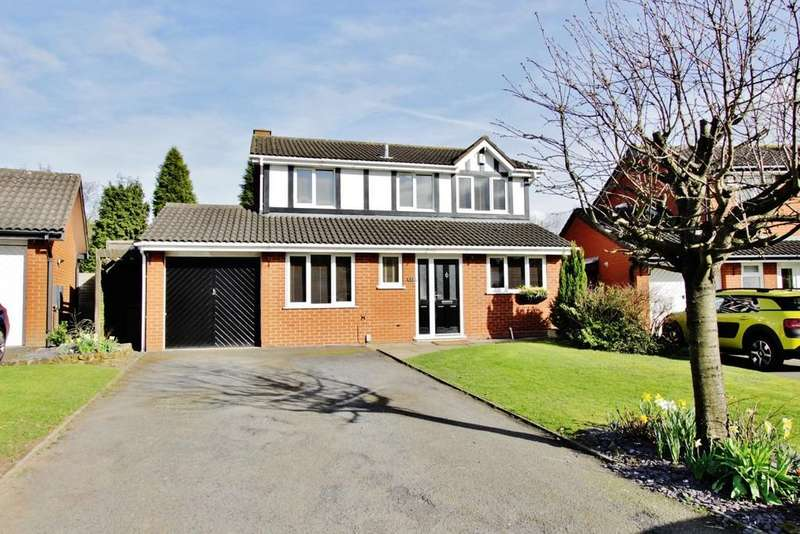 4 Bedrooms Detached House for sale in Bellingham, Wilnecote