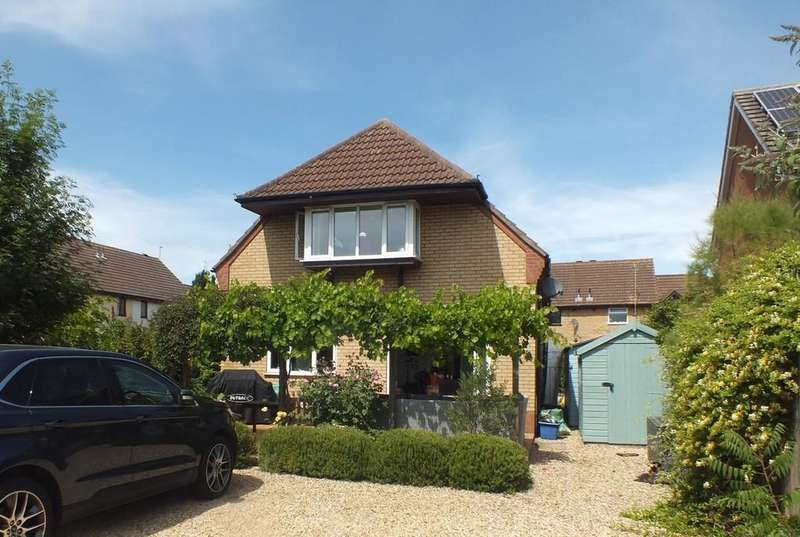 3 Bedrooms Detached House for sale in Aalsmeer Rise, Spalding