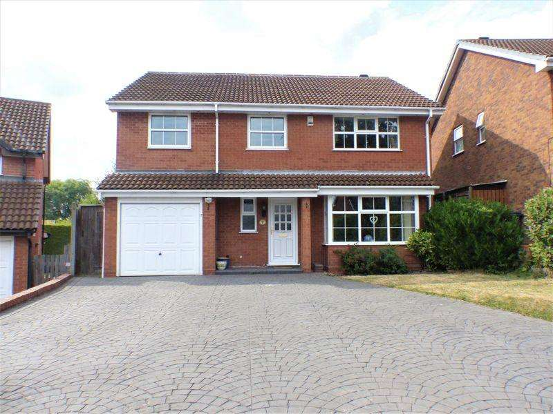 4 Bedrooms Detached House for sale in Herringshaw Croft, Sutton Coldfield