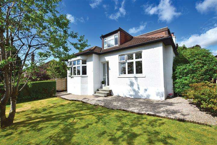 4 Bedrooms Detached Bungalow for sale in 40 Braeside Avenue, Milngavie, G62 6LJ