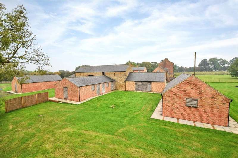 Barn Conversion Character Property for sale in Hardwick, Wellingborough, Northamptonshire