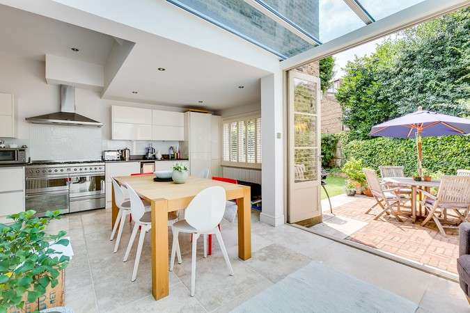 5 Bedrooms End Of Terrace House for sale in Gainsborough Road, Chiswick