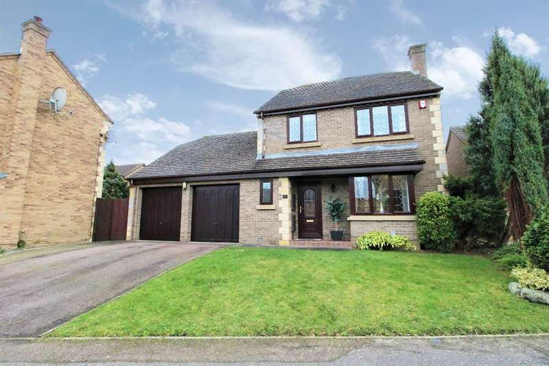 4 Bedrooms Detached House for sale in Quenby Way, Bromham, MK43