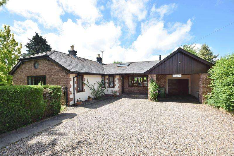 4 Bedrooms Detached Bungalow for sale in Kings Caple, Hereford