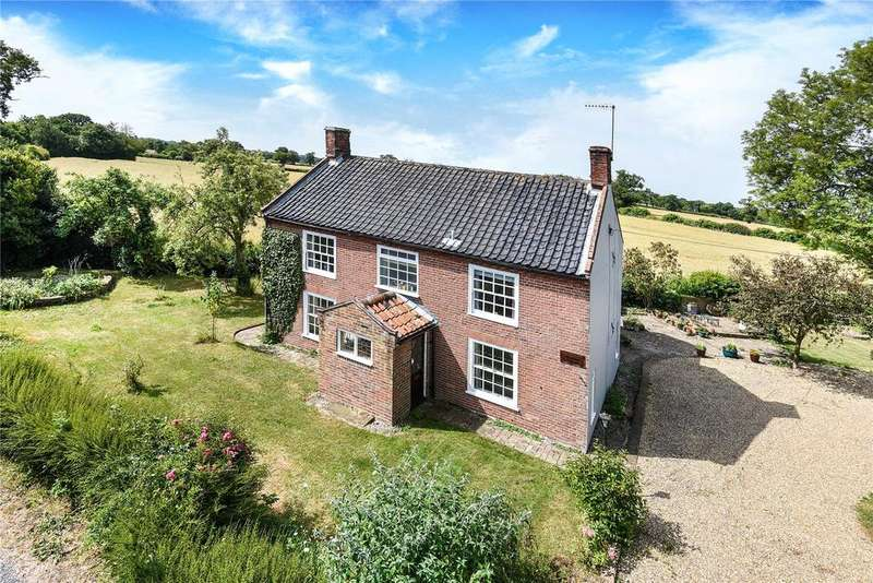 4 Bedrooms Detached House for sale in Church Road, Uggeshall, Beccles, Suffolk, NR34