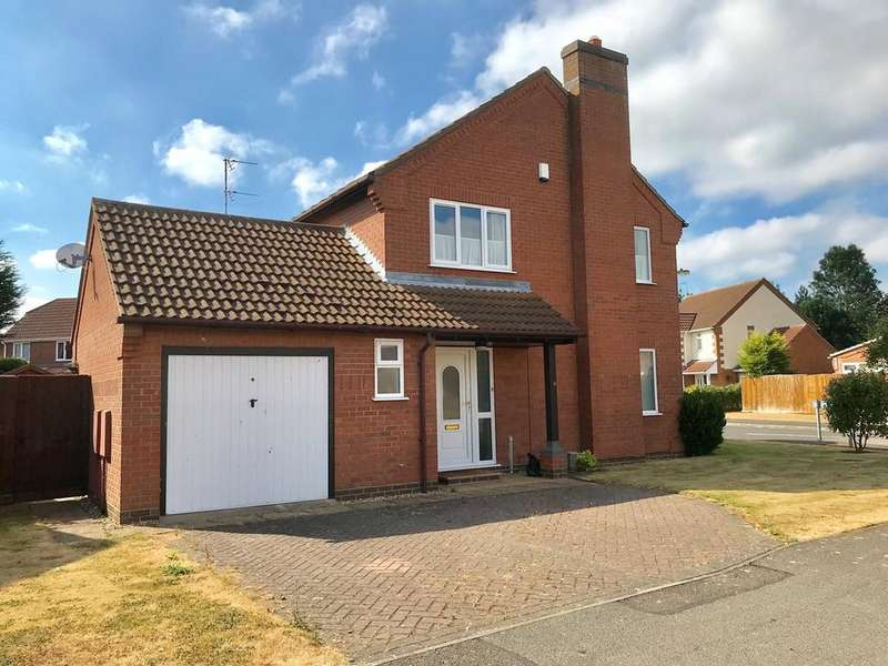 3 Bedrooms Detached House for sale in Claudette Avenue, Spalding, PE11