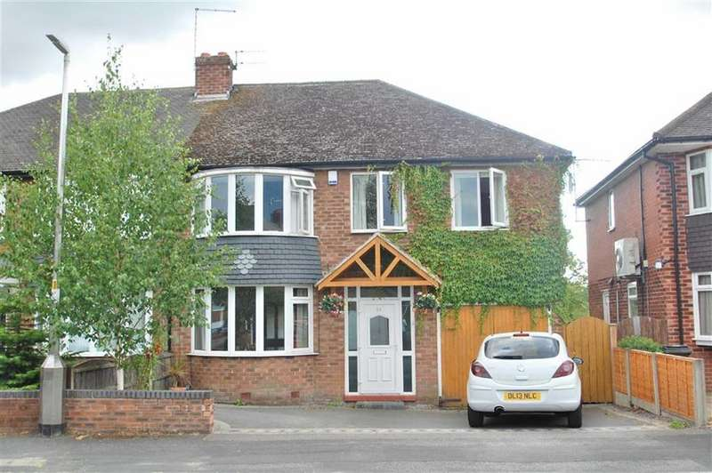 4 Bedrooms Semi Detached House for sale in Ullswater Road, Wilmslow, Cheshire