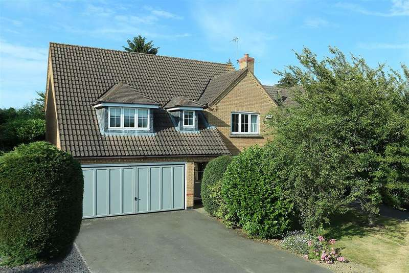 4 Bedrooms Detached House for sale in Riley Close, Market Harborough