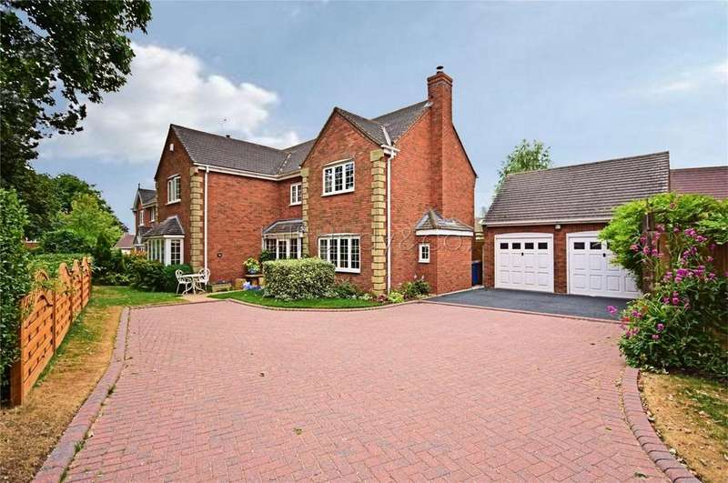 4 Bedrooms Detached House for sale in Ashmole Avenue, BURNTWOOD, Staffordshire