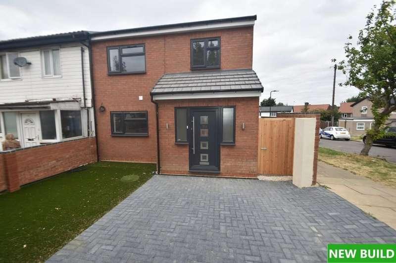 3 Bedrooms End Of Terrace House for sale in Newnham Close, Northolt, UB5 4LJ