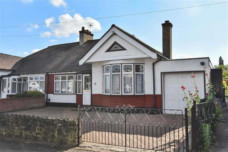 3 Bedrooms Semi Detached Bungalow for sale in Ravenscourt Drive, Hornchurch, RM12 6HP