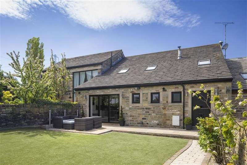 4 Bedrooms Barn Conversion Character Property for sale in The Old Farm Yard, Bog Green Lane, Huddersfield, HD5