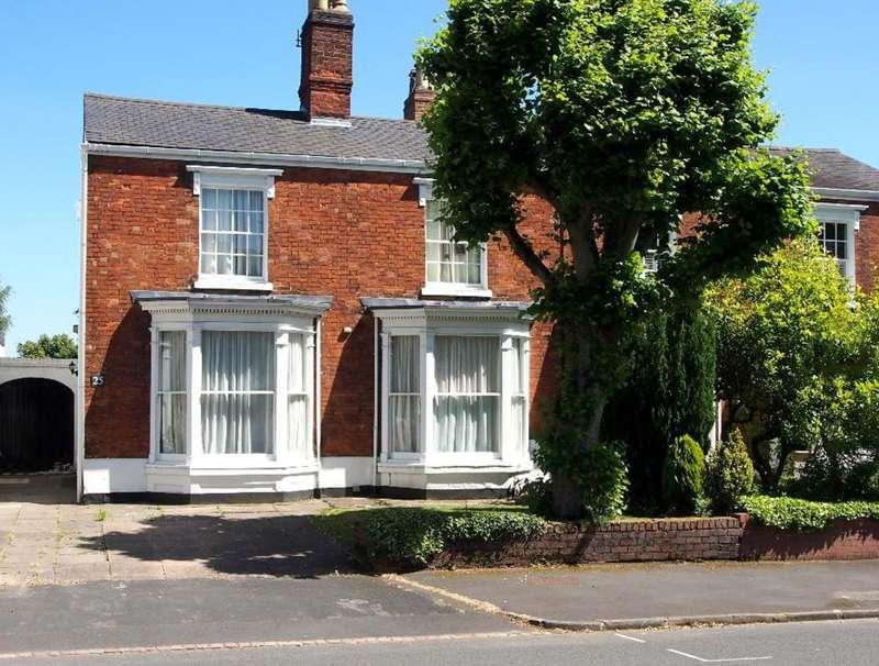 4 Bedrooms Semi Detached House for sale in Frederick Road, Edgbaston, B15 1JN