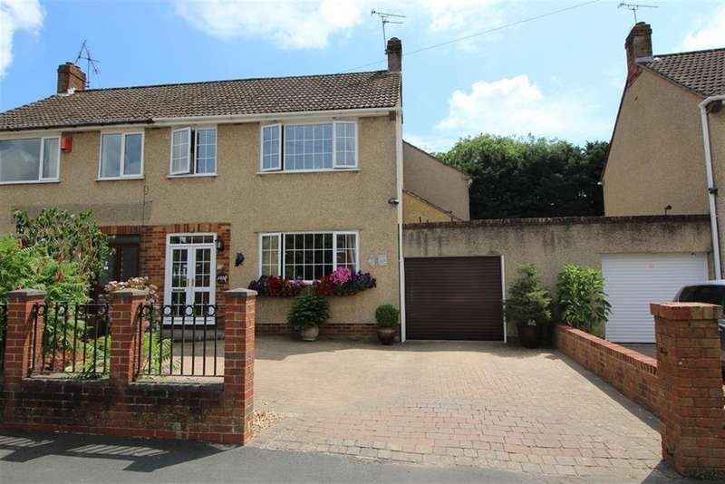 3 Bedrooms Semi Detached House for sale in Melrose Avenue, Yate, Bristol, BS37 7AU