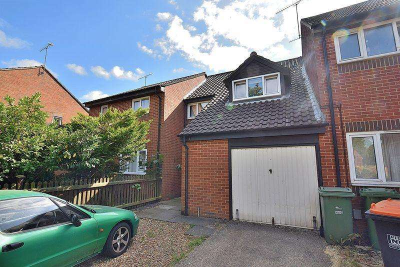 3 Bedrooms Terraced House for sale in New Woodfield Green, South Dunstable