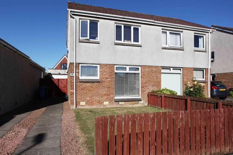 3 Bedrooms Semi-detached Villa House for sale in Drummormie Road, Cairneyhill, Dunfermline, Fife, KY12 8RL