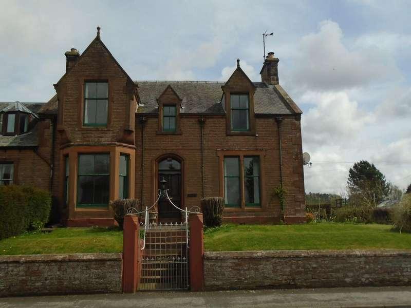 4 Bedrooms Semi-detached Villa House for sale in 1 Douglas Terrace, Lockebie DG11 2DZ