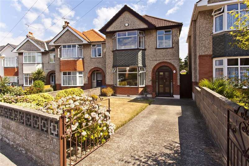 3 Bedrooms Detached House for sale in Sheringham Road, Branksome, Poole, BH12