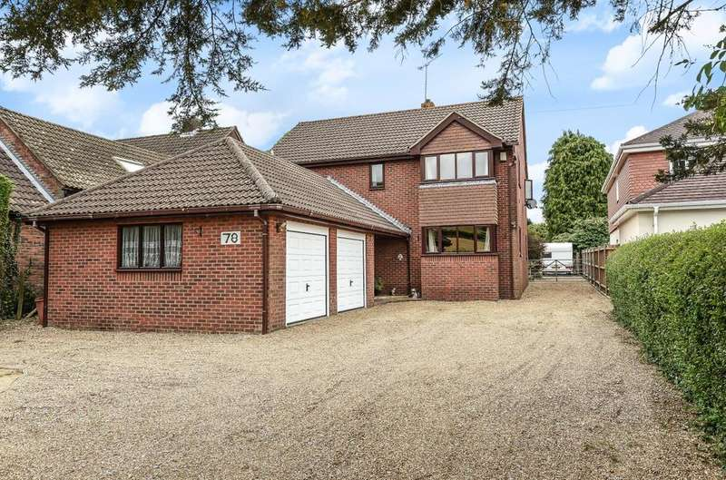4 Bedrooms Detached House for sale in Downhouse Road, Clanfield, PO8