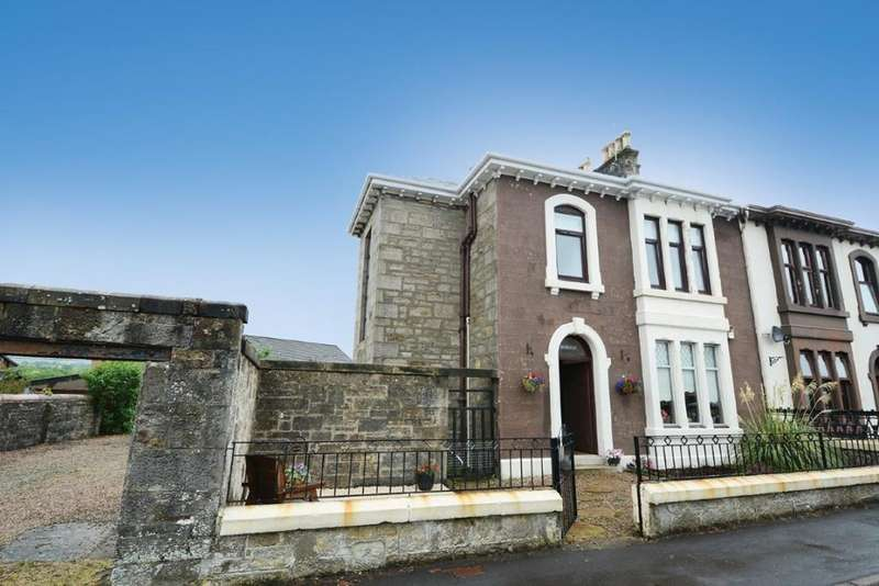 2 Bedrooms Flat for sale in 41A James Street, Dalry, KA24 5ET