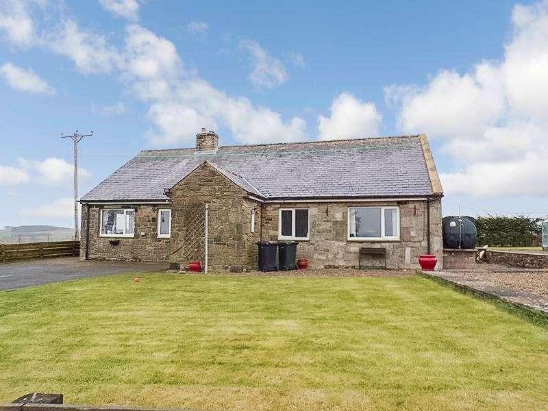 3 Bedrooms Bungalow for sale in Crossridge Farm, Wark, Hexham, Northumberland, NE48 3BG