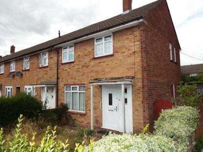 2 Bedrooms End Of Terrace House for sale in Rodney Close, Luton, Bedfordshire