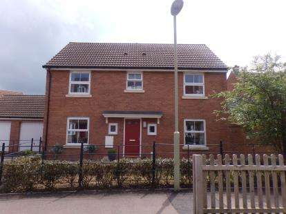 4 Bedrooms Detached House for sale in Stafford Close Kingsway, Quedgeley, Gloucester, Gloucestershire