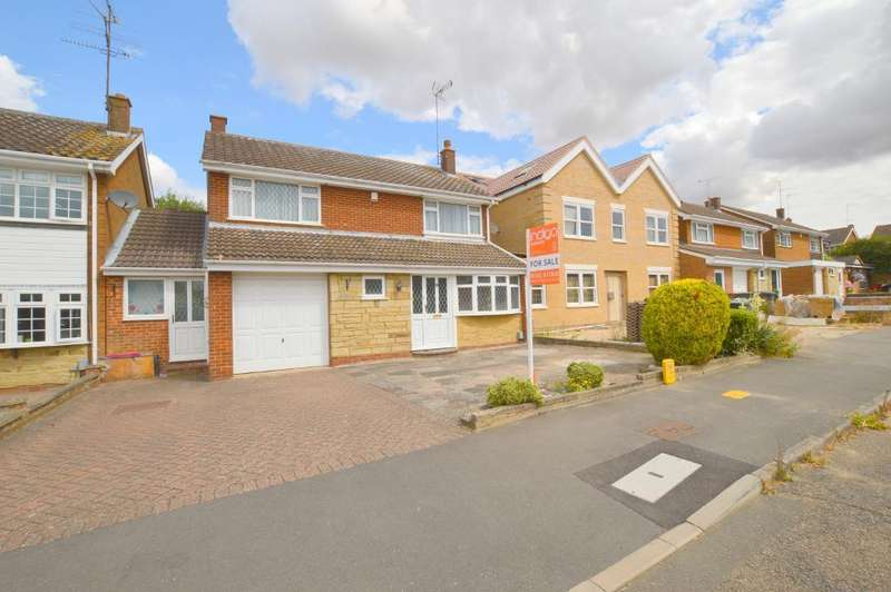 4 Bedrooms Detached House for sale in Winton Close, Old Bedford Rd Area, Luton, Bedfordshire, LU2 7BJ