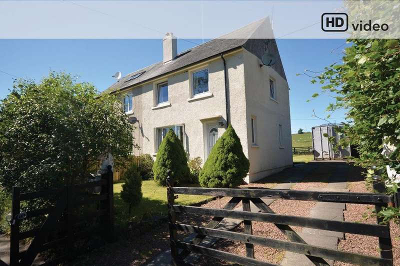 3 Bedrooms Semi-detached Villa House for sale in Roadmans House, Carron Valley, Stirling, FK6 5JL