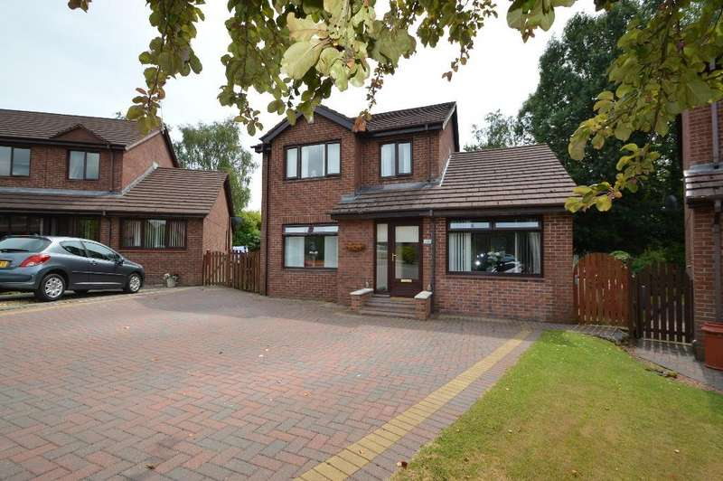 4 Bedrooms Detached House for sale in Annandale Way, Irvine, North Ayrshire, KA11 1RA