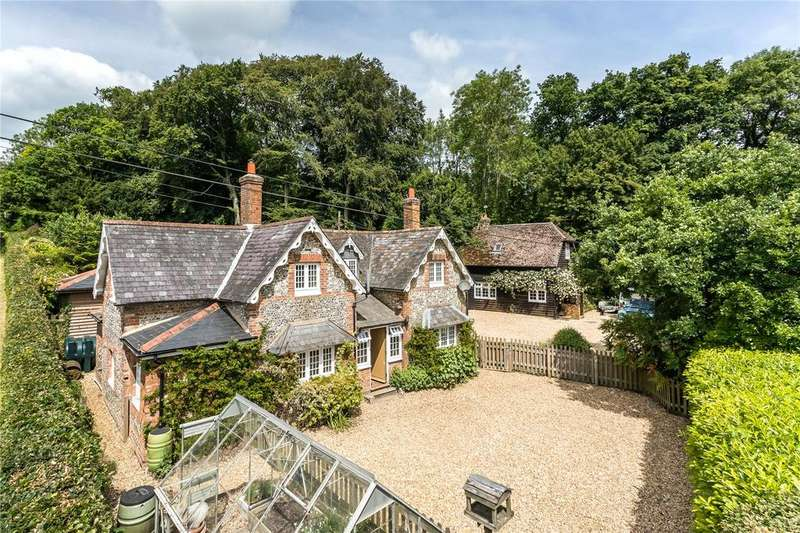 4 Bedrooms Detached House for sale in Longwood, Owslebury, Winchester, Hampshire, SO21